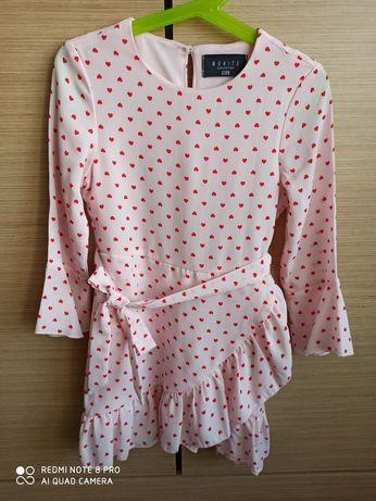 Sukienka dla dziewczynki firmy Mohito, rozmiar 110/116