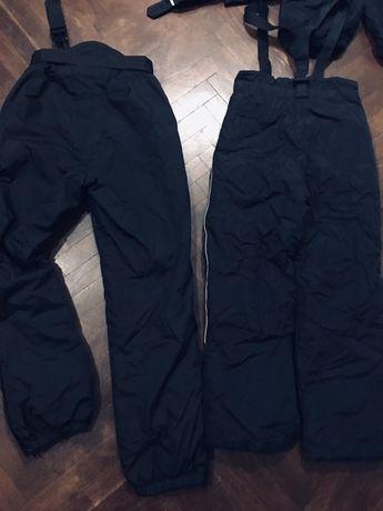 Спортивные теплые фирменные штаны