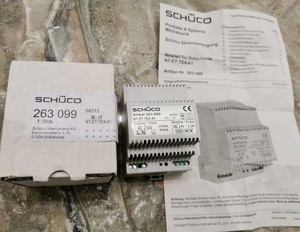 Імпульсний блок живлення 24V SCHUCO 263099, импульсный блок питання