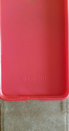 Etui Huawei P9 Lite czerwone
