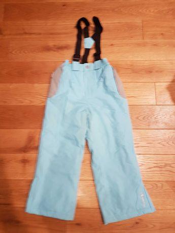 Spodnie narciarskie rozm. 110- 116 cm