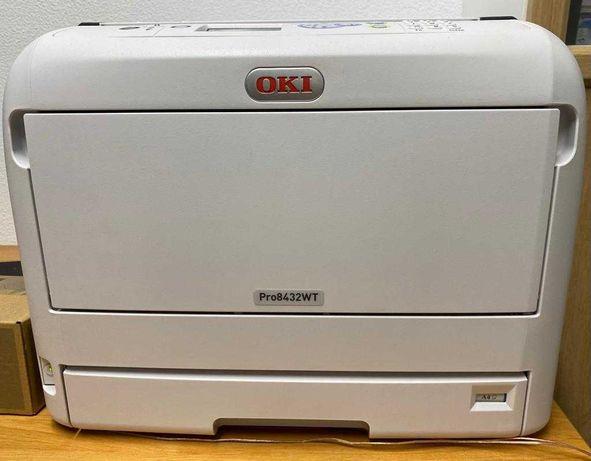 Impressora a branco OKI A3 Pro8432WT C/Oferta