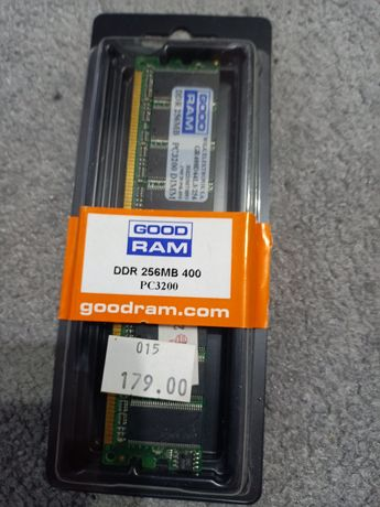 Pamięć RAM GoodRam DDR 256 mb 400 PC 3200 DIMM