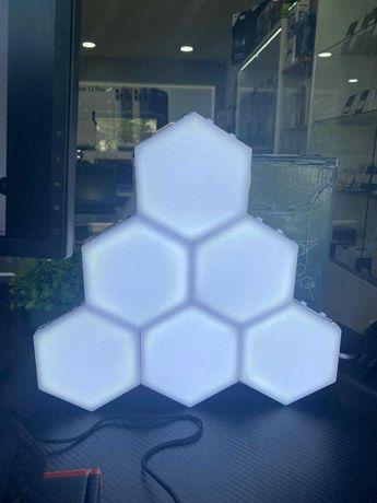 LED Quantum Hexagonal Modular Touch DIY