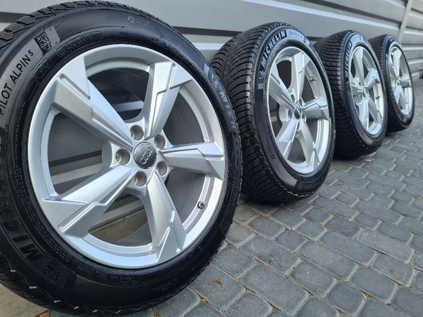 "NOWE OPONY Oryginalne Felgi Koła Audi 18"" A3 A4 A6 A8 Q3 Q5 TT"