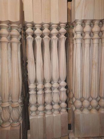 Дерев'яні балясини. Ножки для стола. Комплект для сходів! Виробник!!