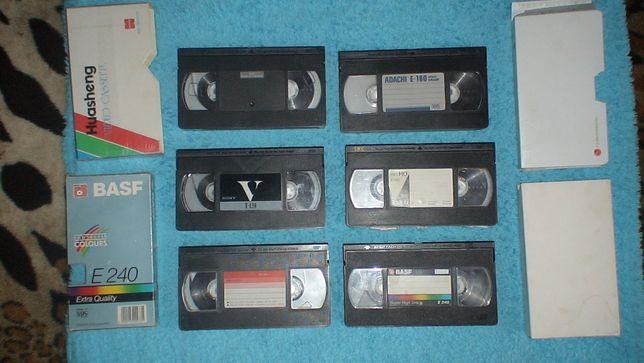Импортные видеокассеты