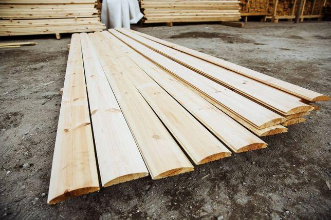 Блок хаус 135*35*4,5 м с БЕСПЛАТНОЙ доставкой от производителя!
