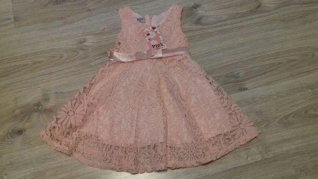 Sukienka, sukieneczka dla dziewczynki 24 miesiące 92-98