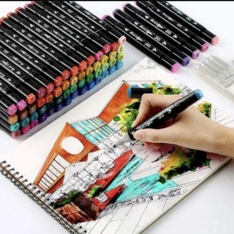 ТОП! Набор маркеров Touch для рисования скетчинга на спиртовой основе