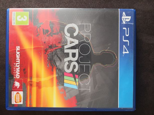 Project Cars 1 gra PS4