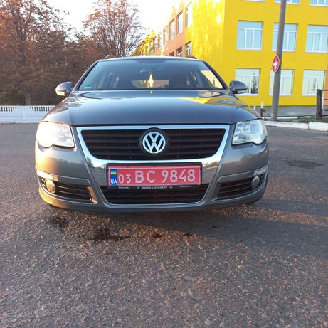 Volkswagen Passat Свежепригнаный автомобиль из Германии