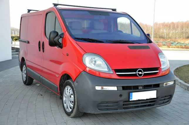 Opel Vivaro 1.9Dci krótki L547 wszystkie części Trafic Primastar