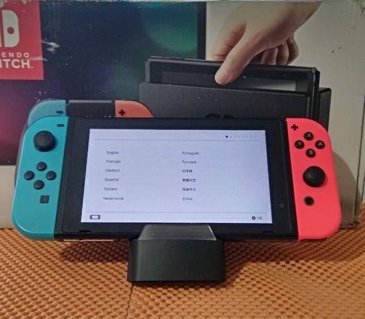 Nintendo Switch. Первая ревизия. С коробкой.