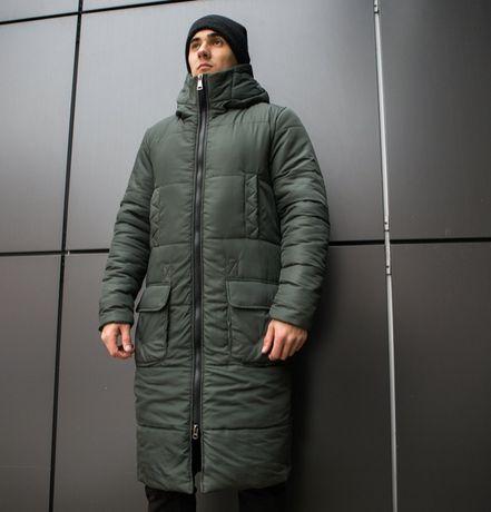 """Мужская зимняя куртка Pobedov """"Tank"""" (3 цвета) S M L XL XXL XXXL"""