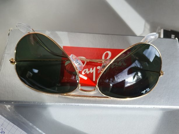 Okulary ray ban Aviator junior  8-12lat