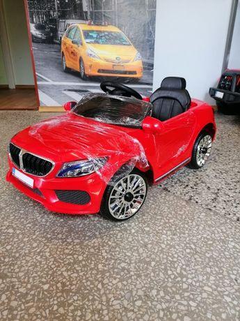 Samochód ala BMW na akumulator PILOT czerwony czarny biały