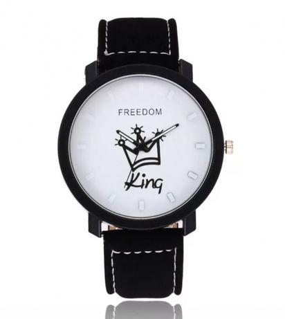 Nowe męskie zegarki duża tarcza