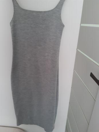 Sukienka  Zara szara