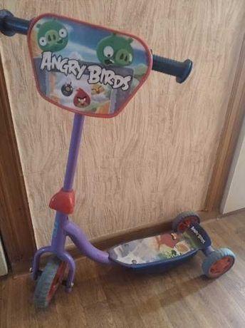 самокат дитячий триколісний