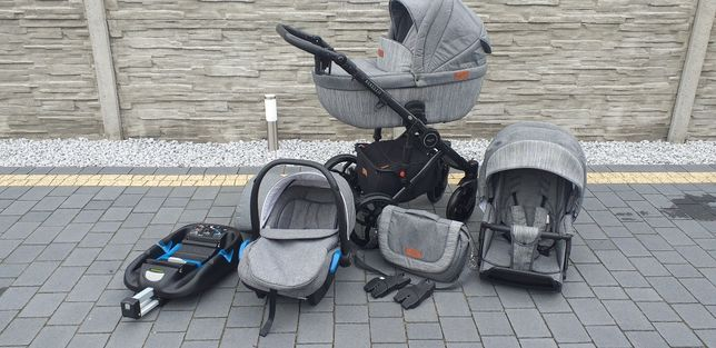 Wózek baby merc bebello 4 w 1