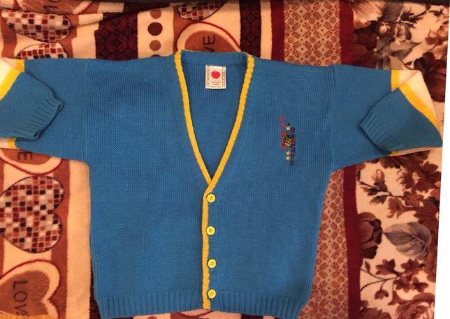Пуловер голубой Adams 3/4 года 104 см sale 60 грн