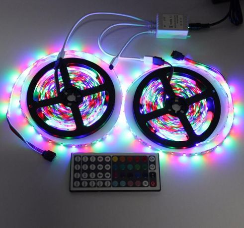 FITA LED RGB Ref. 3528 Kit 10 metros cores