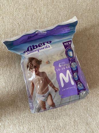 Подгузники-трусики детские для плавания Libero Swimpants Medium 10-16