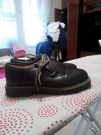 Кожаные туфли 42 р.