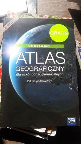 Atlas geograficzny dla liceum i techników