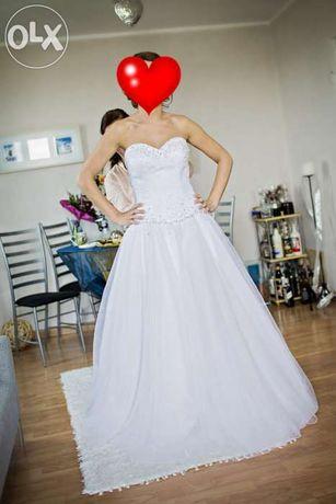 Suknia ślubna Sincerity Bridal 3621 tiulowa kryształki Swarovskiego
