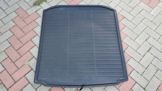 Коврик в багажник Skoda Octavia A7 лифтбек
