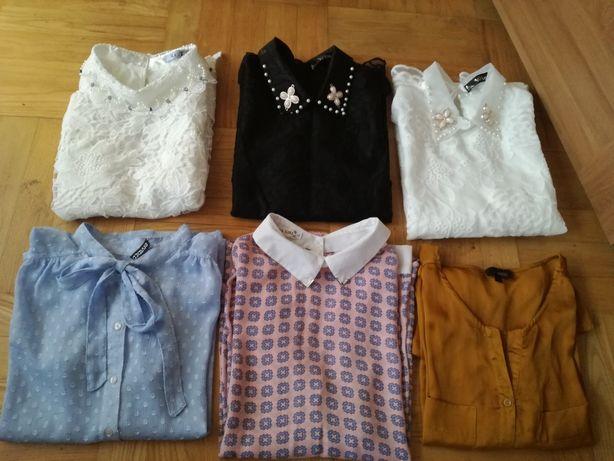 Paka eleganckich bluzek