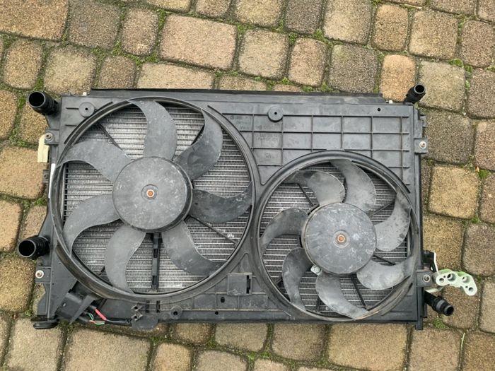 zestaw chłodnic z wentylatorem audi a3 8p Kościan - image 1