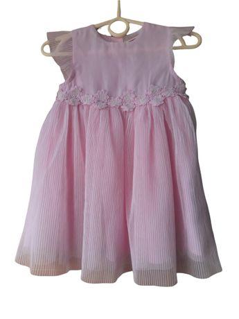 Sukienka dziewczęca 86