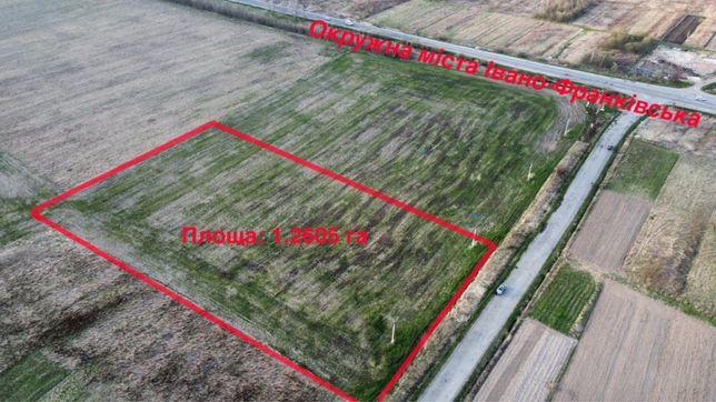 Продається земельна ділянка 1,26га