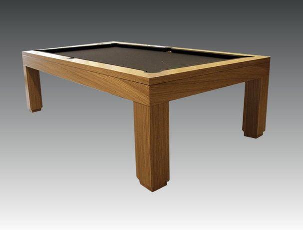 Bilhar / Snooker moderno castanho NOVO