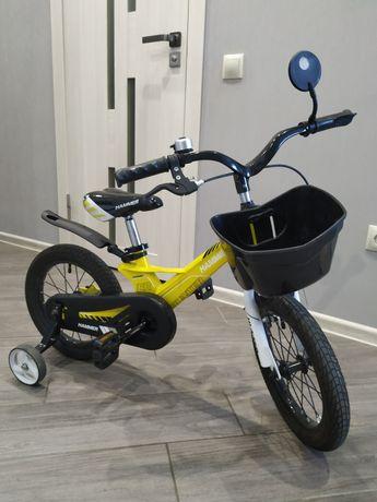 Двухколёсный красочный велосипед Hammer