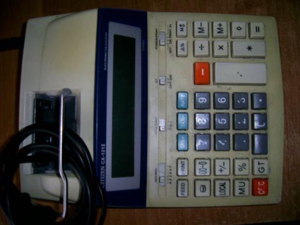 Печатающий калькулятор Citizen 121