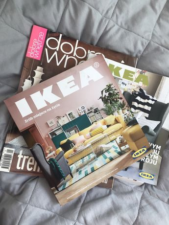 Katalogi wnętrz meble IKEA za darmo