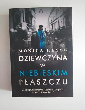 Książka Dziewczyna w niebieskim płaszczu