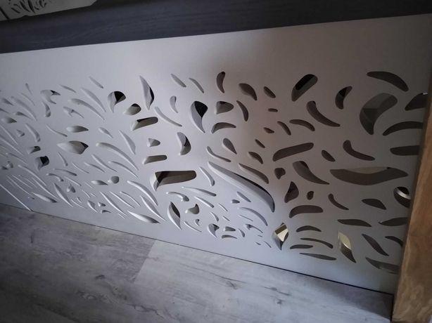 balustrada bez słupków, panel ażurowy 3-4 cm