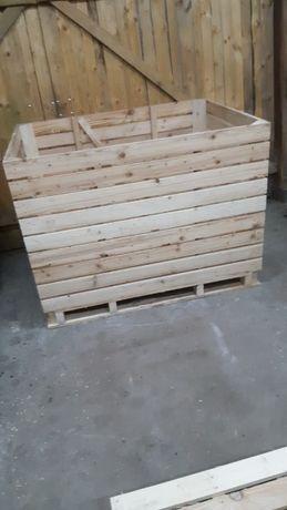 Skrzyniopalety drewniane 160 x 120 x 120 Producent