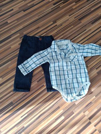 Koszula body i spedenki firmy Smyk