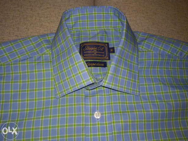Брендовая мужская рубашка Steppiri Out под запонки, размер M