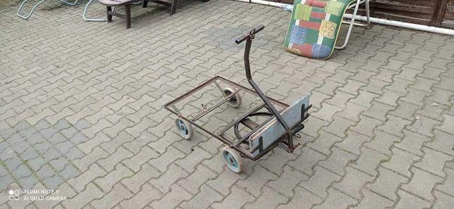 Wózek czterokołowy przyczepa
