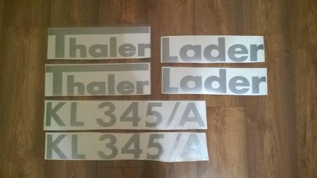 Naklejki Thaler Lader KL345/A