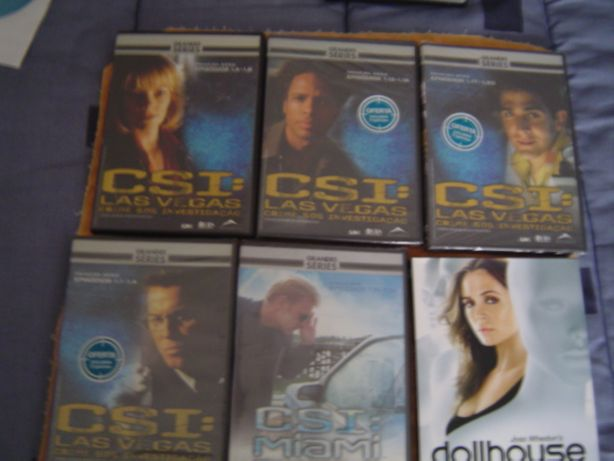 5 DVD de Series de Ação