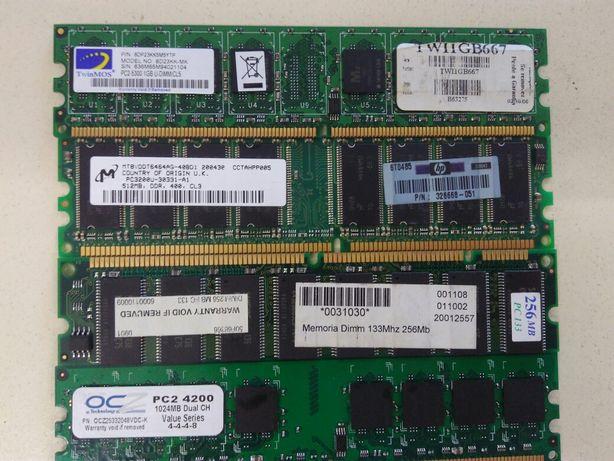 Memorias ram desktop