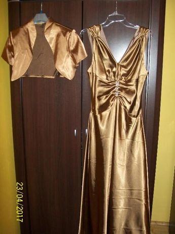 Komplet - Suknia i bolerko OKAZJA